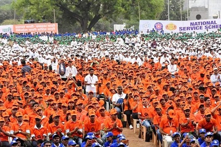 NSS Guinness Record for Harit Wari